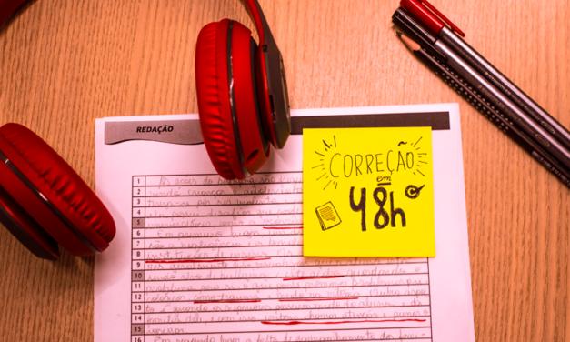 O que 4 redações por mês podem fazer por você? Vem conferir!
