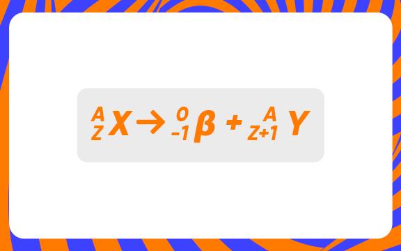 fórmula segunda lei radioatividade