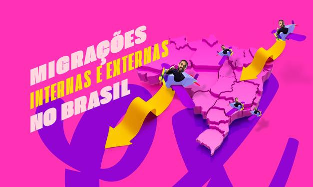 MIGRAÇÕES INTERNAS E EXTERNAS NO BRASIL PARA O ENEM