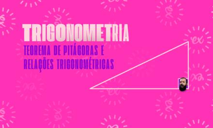 TEOREMA DE PITÁGORAS E RELAÇÕES TRIGONOMÉTRICAS